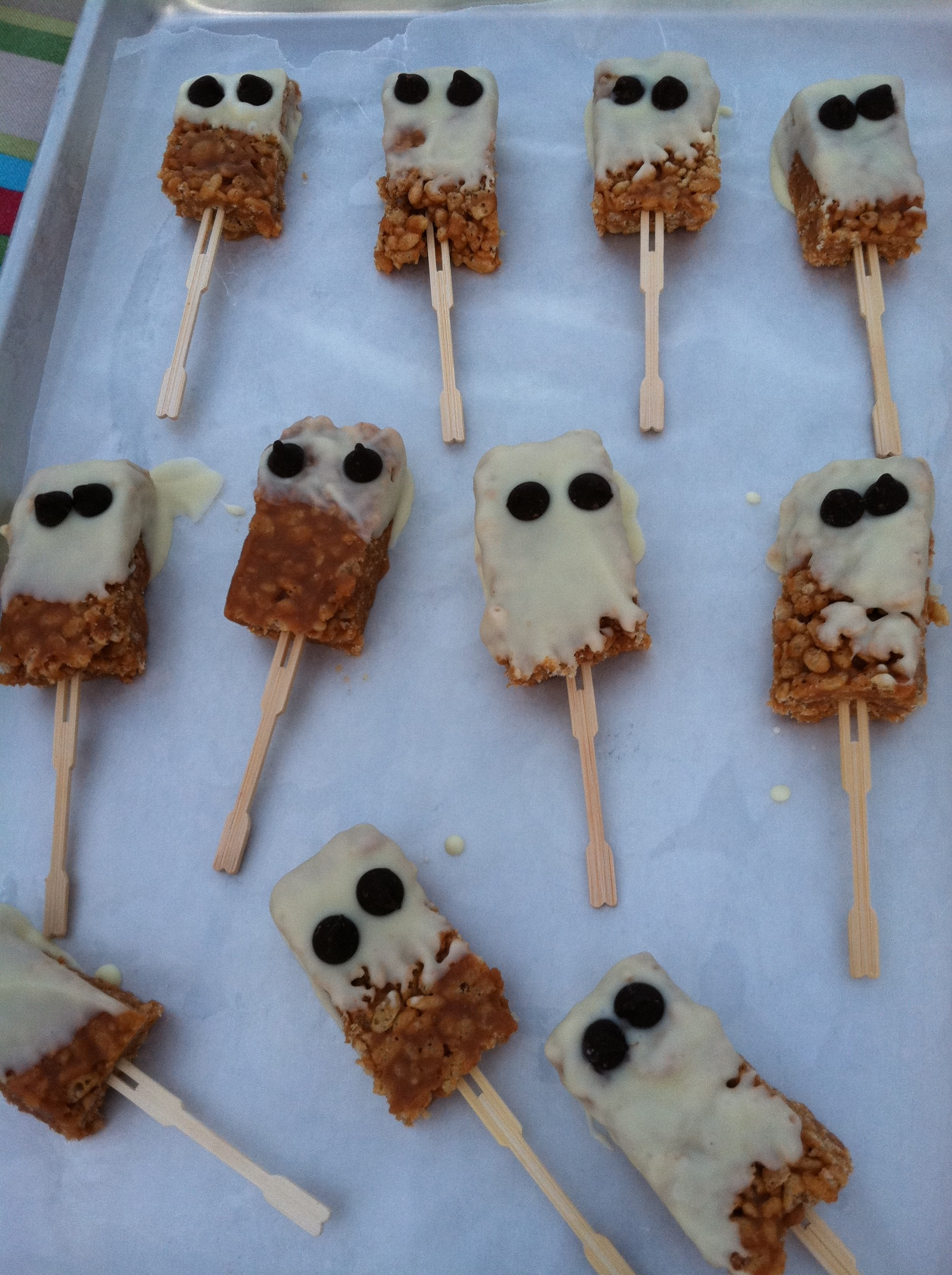 Halloween food ideas- ghosts