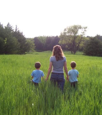Happy moms and happy kids