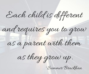 grow as a parent